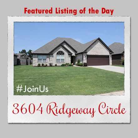 Featured Listing of the Day: 3604 Ridgeway Circle  Contact the #1 real estate team in Jonesboro today and #JoinUs in the search for your dream home!   #burchandco #realestate #realtor #arkansas #jonesboro #jonesbororealestate #arkansasrealestate #property #forsale #houseforsale #listingoftheday #featured #home #buy #buyrealestate #newhome  #househunting