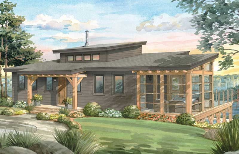 Timber Frame House Plans Residential Designs