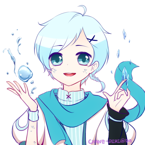 Semi Chibi commission for Only the owners are allowed to use theirs ʕ♡˙ᴥ˙♡ʔ ------------------ Hiroshi belongs to Yukina-Chi