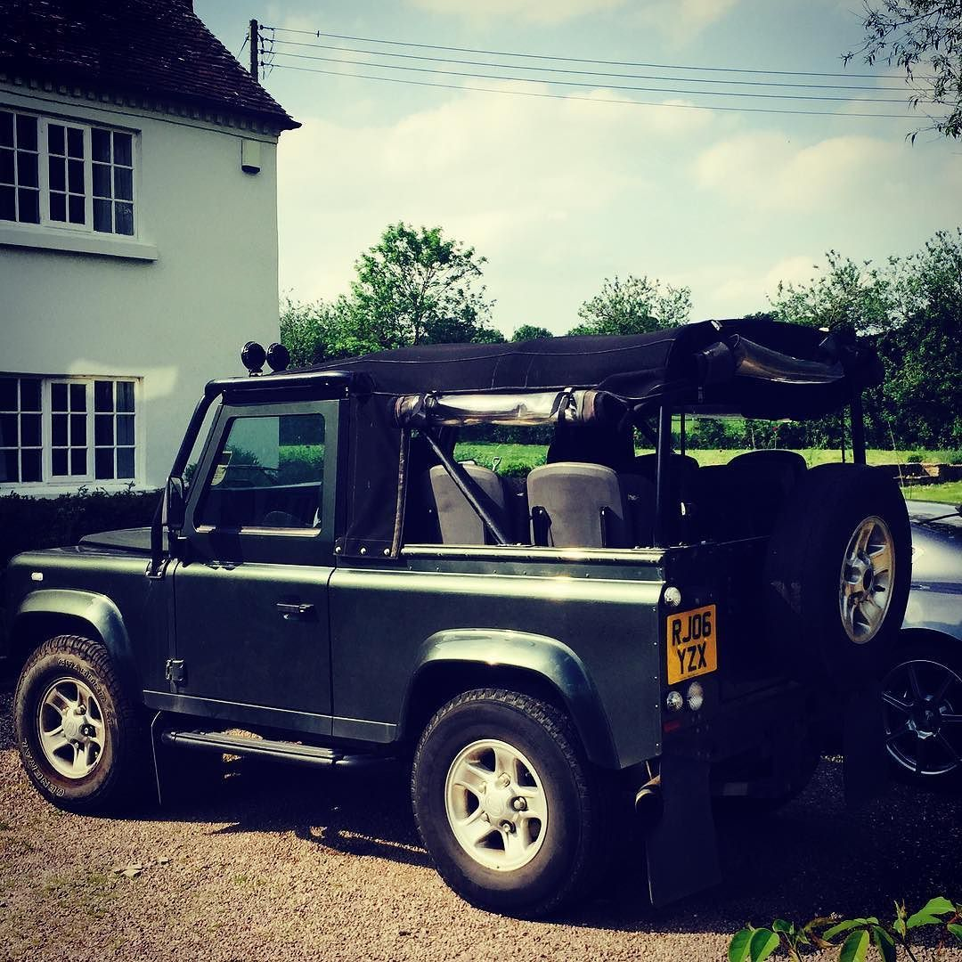 Land Rover Defender 90 Td5. Soft Top. Seat Rear. Nice