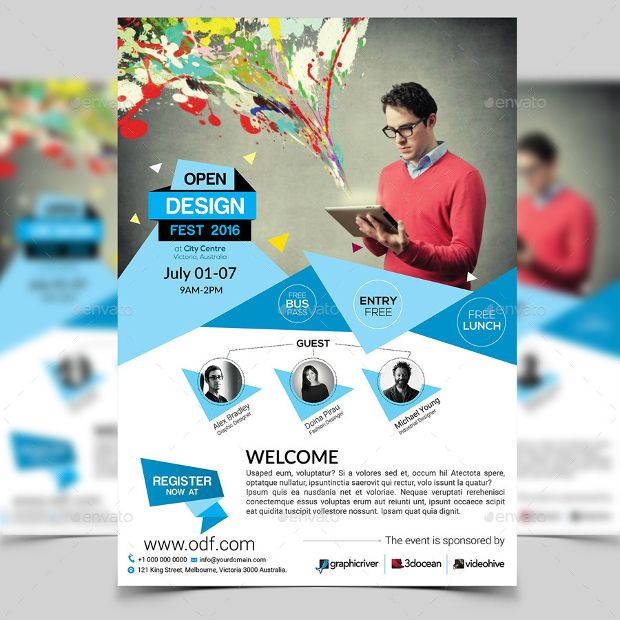 conference flyer template - Onwebioinnovate