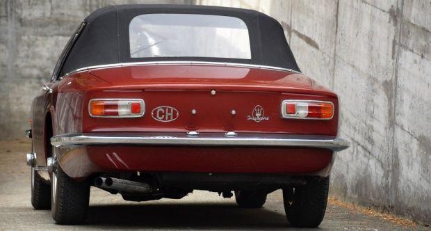 1964 Maserati Mistral - 3700 Spyder one of only 46 ...