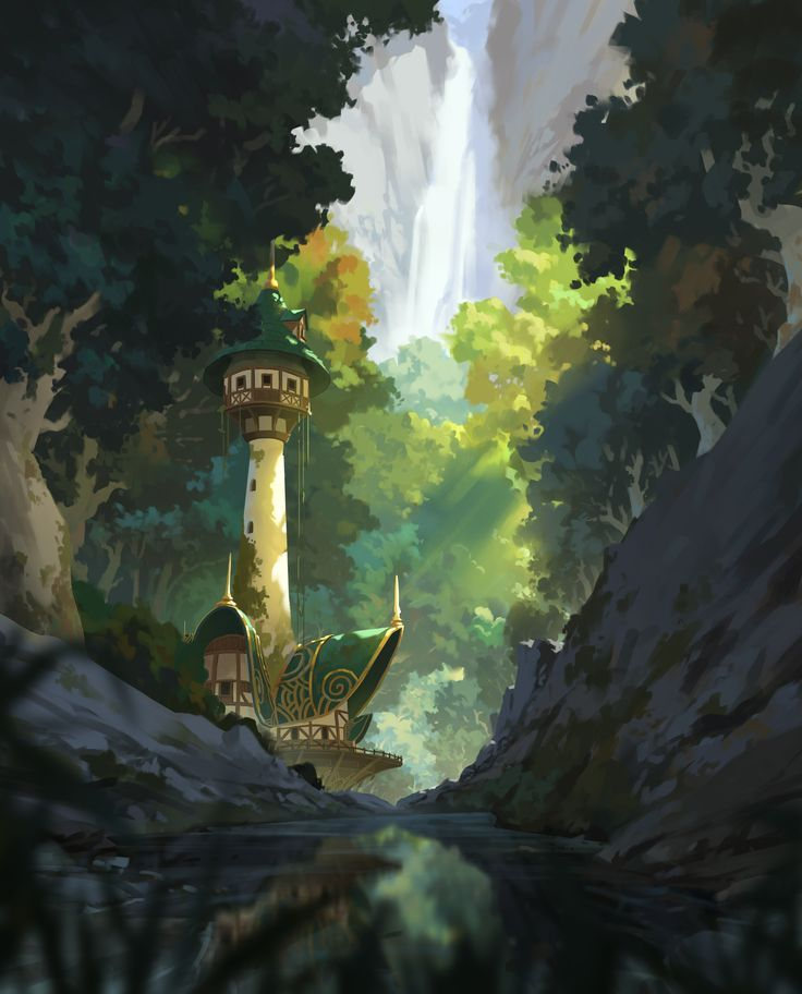 Digital Painting Landscape Google Search Nature Artwork Paintings Digital Painting Photoshop Digital Painting Tutorials
