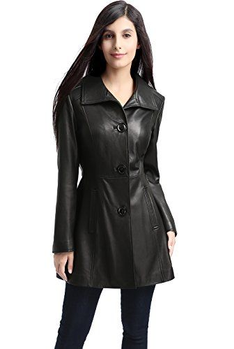 BGSD Womens Belle Missy Plus Size New Zealand Lambskin