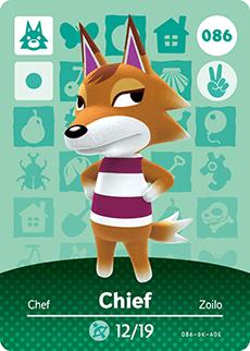 Catálogo de tarjetas amiibo - Animal Crossing™: Happy Home Designer