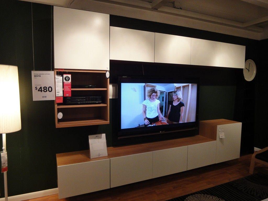 Les 25 Meilleures Id Es De La Cat Gorie Ikea Tv Wall Unit Sur  # Hamilton Atylia Meuble Tv