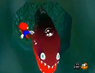 Super Mario 64 Is Scary With Images Christmas Ornaments