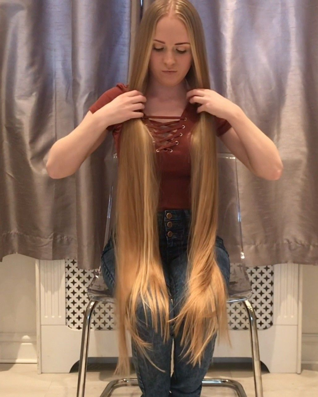Summer Hair Colors That Will Be Huge in 2019 #blackhair # blonde Braids high ponytails # blonde Braids high ponytails