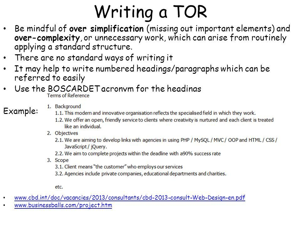 Image result for terms of reference How to apply