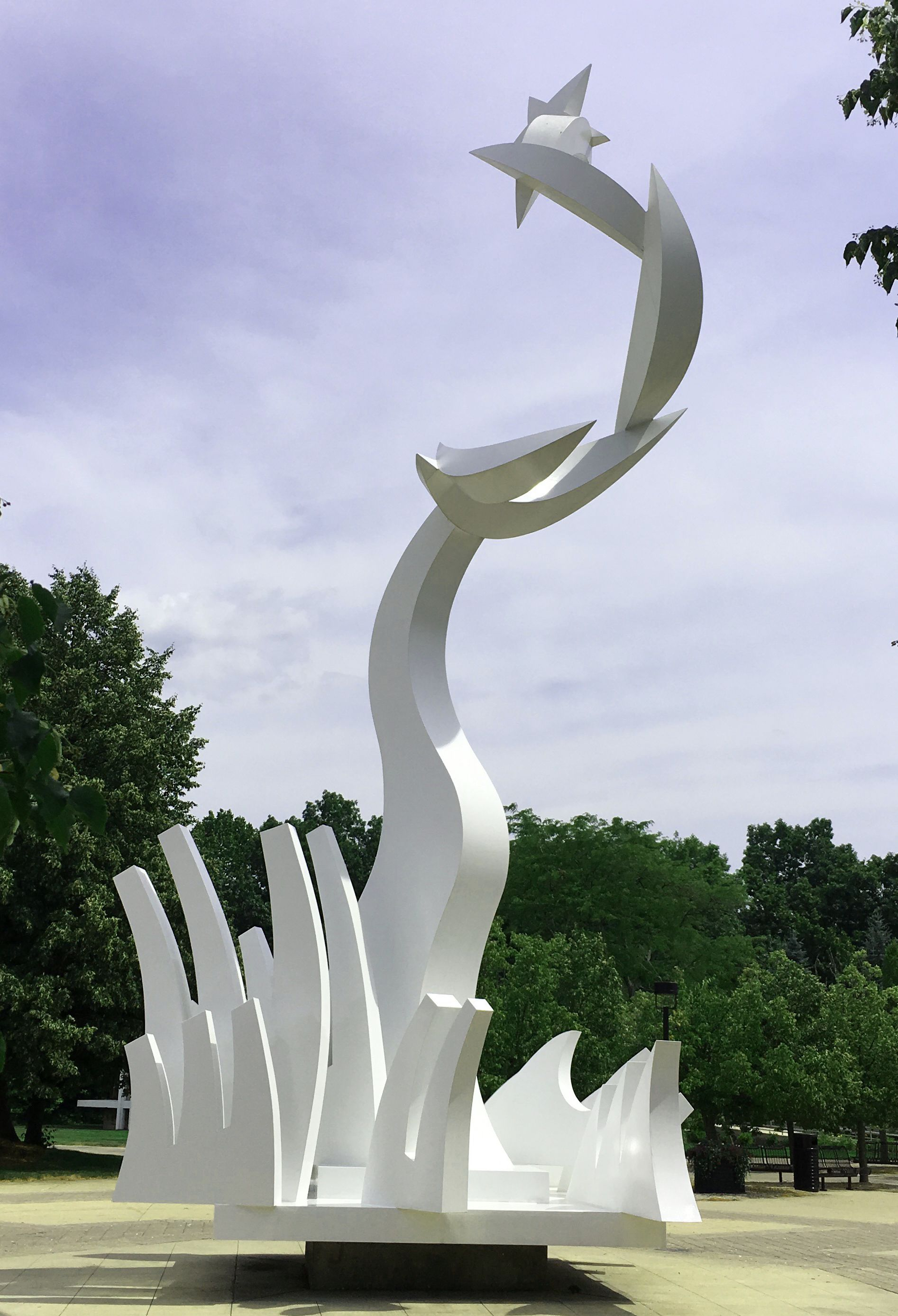 Title: Heaven and Earth Artist: James Clover Allendale campus