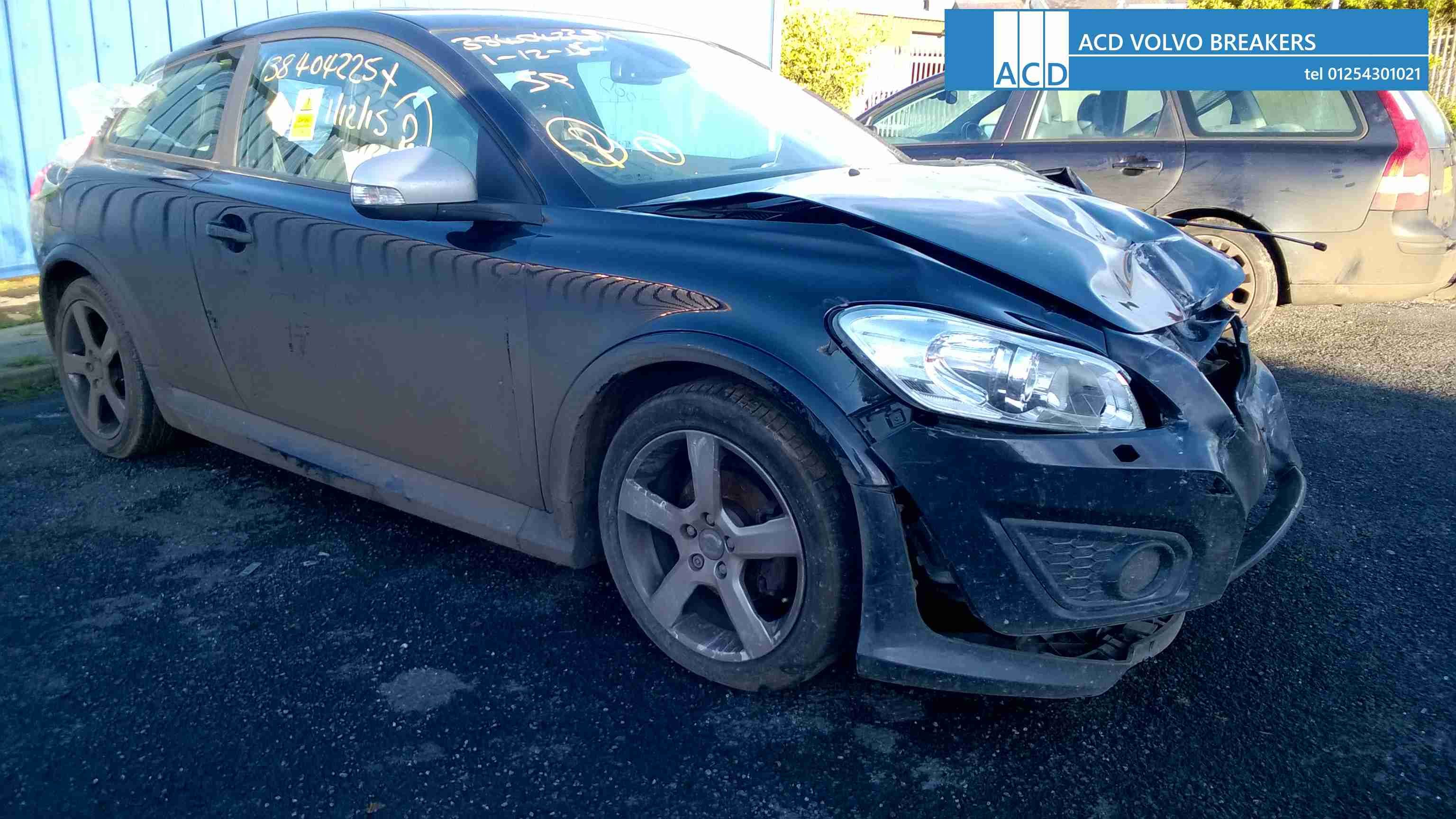 Used Volvo parts Volvo C30 parts Volvo C30 R design 1.6L 6 speed manual  2010. All parts available for breaking. Stock Number 1605 Any enquirers  call ACD of ...