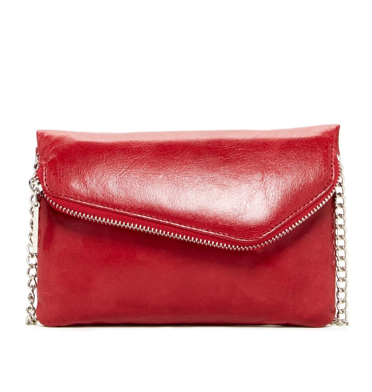 Gorgeous red clutch.