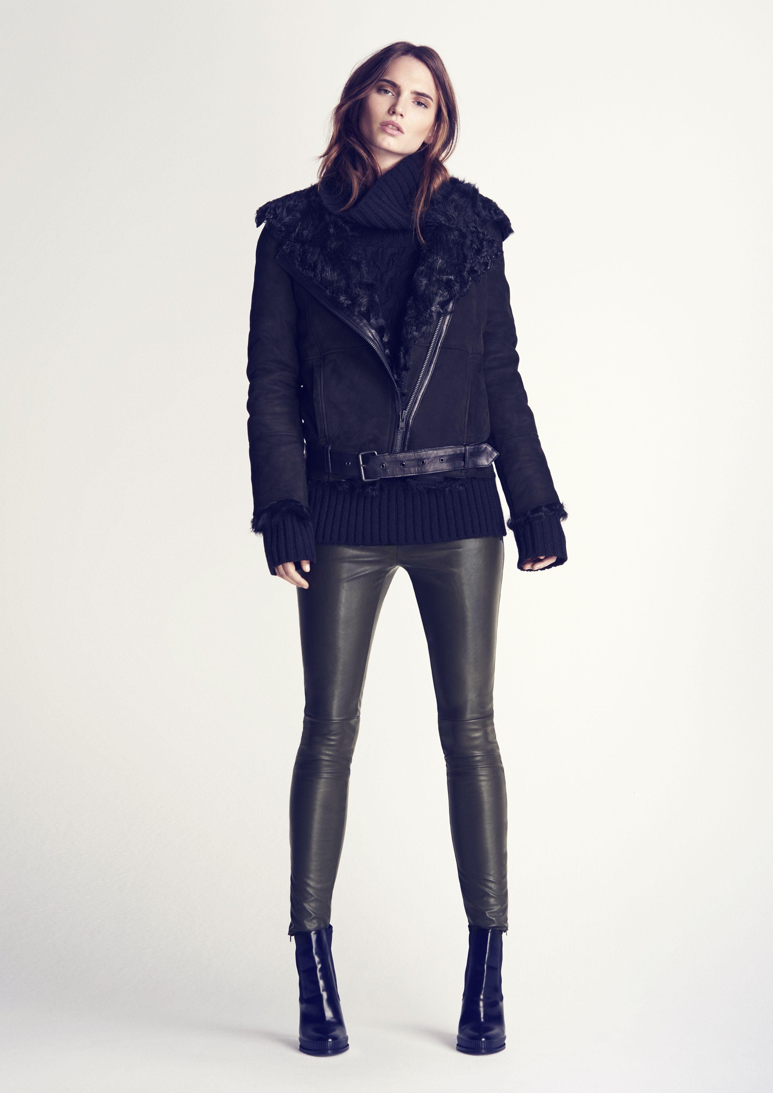 Twist & Tango Fall/Winter 2015 / Camilla Fur Jacket - Niki Turtleneck -  Arleen