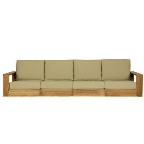 Poolside Four Seat Sofa Outdoor Wood Wooden Sofa Diy Dining Table