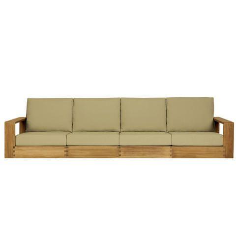 Poolside Four Seat Sofa Sofa De Madeira Moveis Decoracao