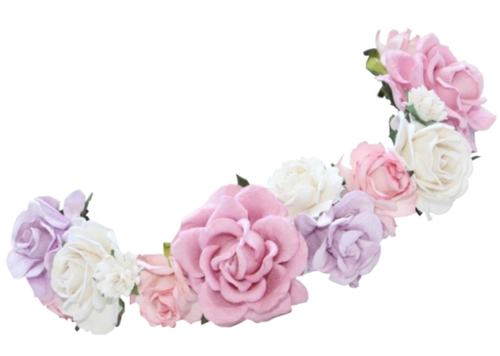 transparent flower crown - Google Search  8531e4f809a