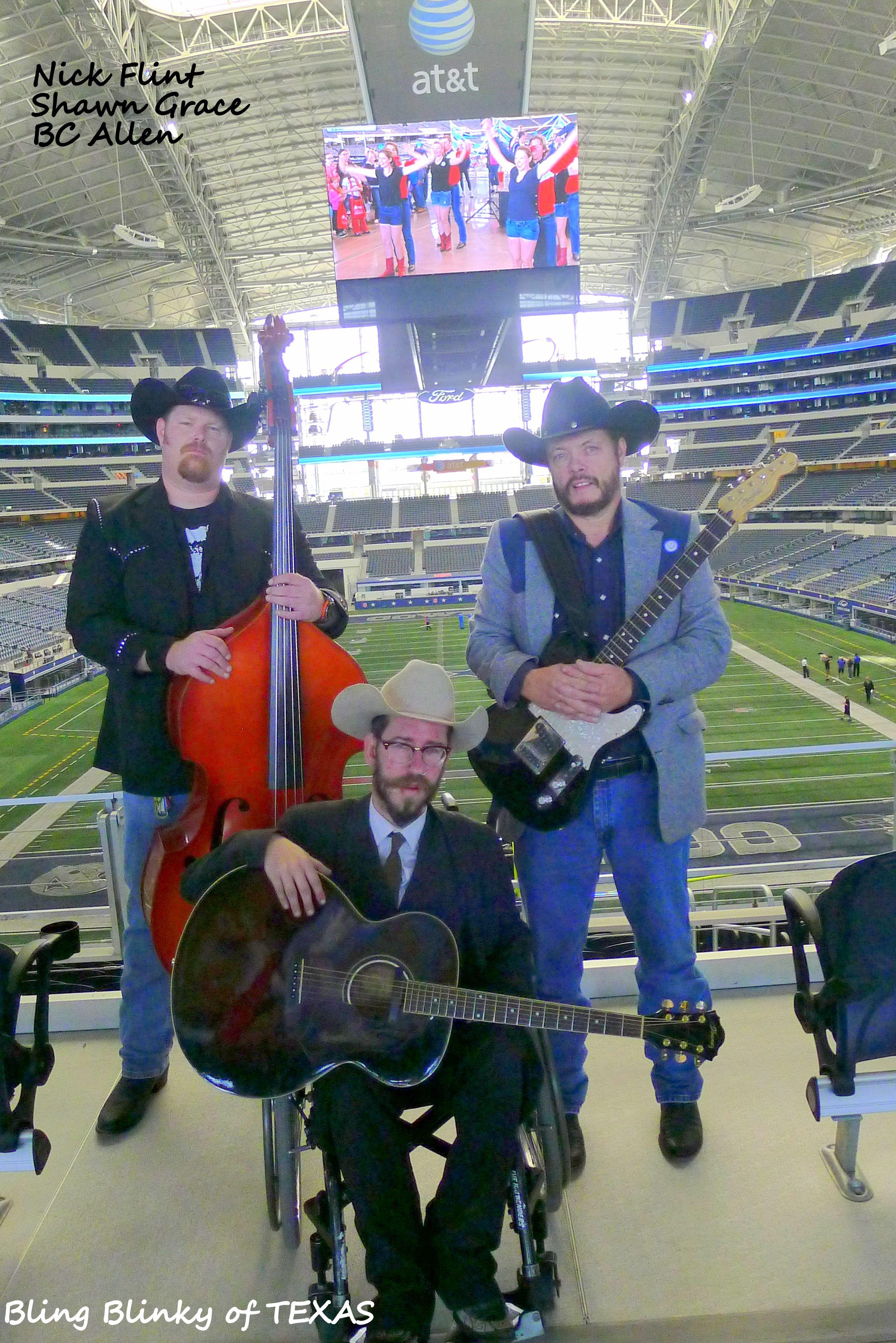 Sean Grace and Brad Allen with Nick Flint ..MDA Muscle Walk Cowboy Stadium - Arlington, TX  4/6/2013