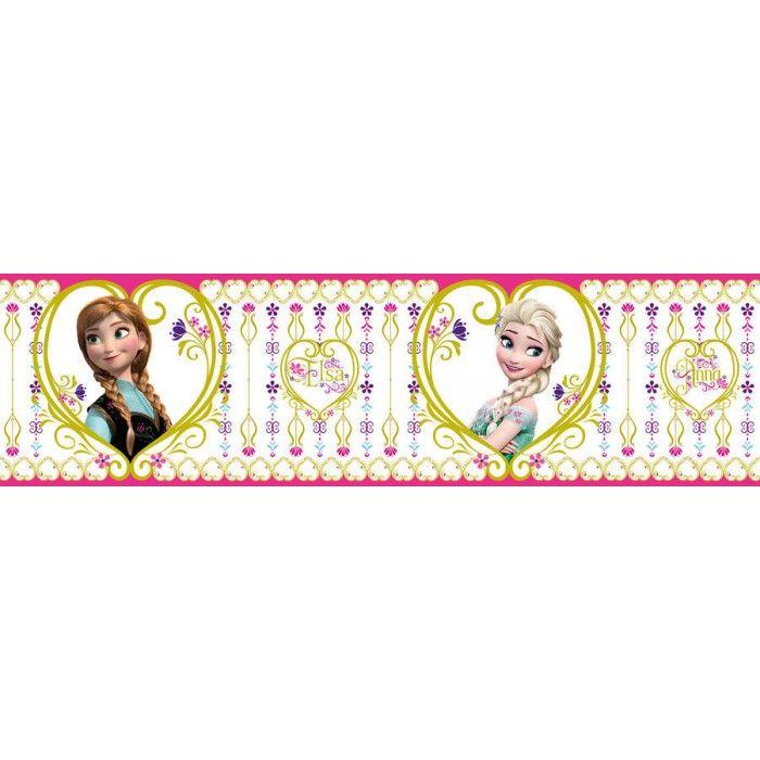 a20a6e6c97 Jégvarázs bordűr, Elsa és Anna #disney #babaszoba #bordűr #gyerekszoba  #frozen