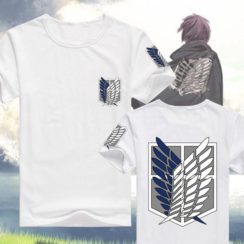 Attack on Titan Shingeki Wings of Freedom Short Sleeve ...