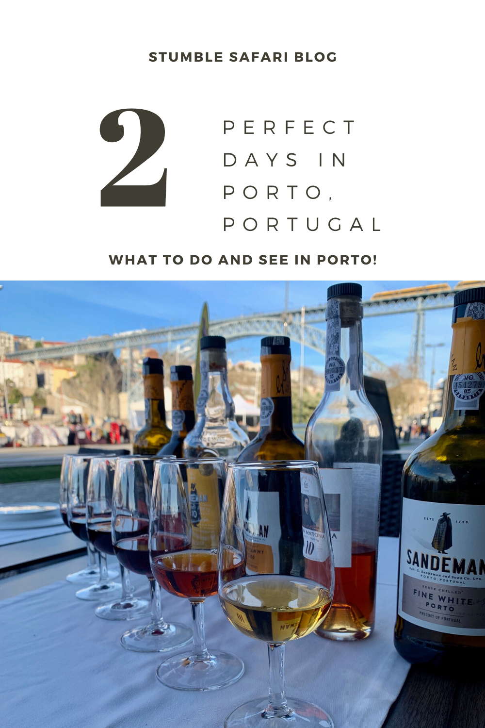 Porto, Portugal is home to rich, sweet port wine, stunning views, and incredible food. This small Portuguese town has so much to offer travelers, especially those who love wine and architecture! Here's how to spend 2 perfect days in Porto! #Porto #portugal #portoportugal #europe #europetravel #portugaltravel #portwine #port #foodietravel #winelover #wine