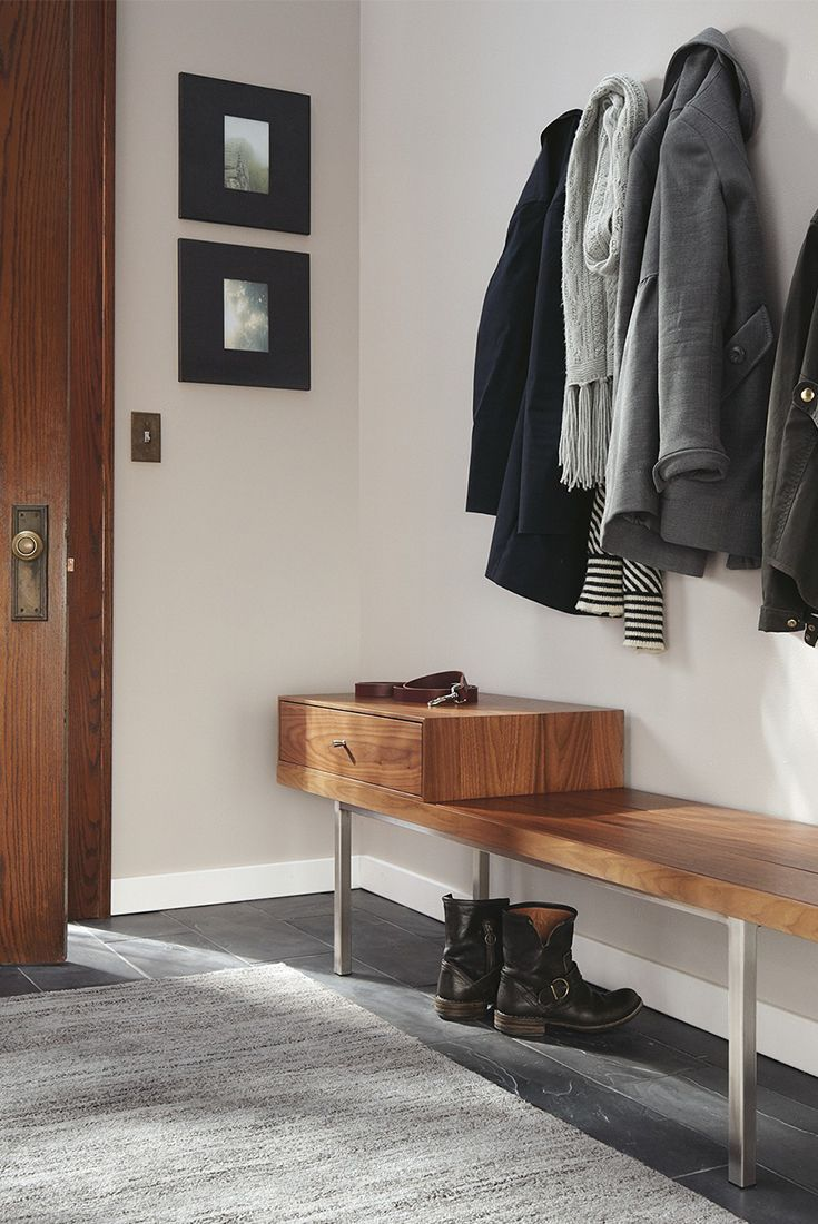 Morris Modern Bench With Drawer Modern Benches Stools Ottomans Modern Entryway Furniture Bench With Drawers Modern Entryway Living Room Stools