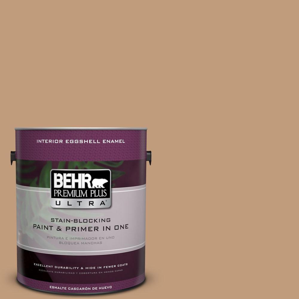 BEHR Premium Plus Ultra 1-gal. #PPU4-6 Teatime Eggshell Enamel Interior Paint