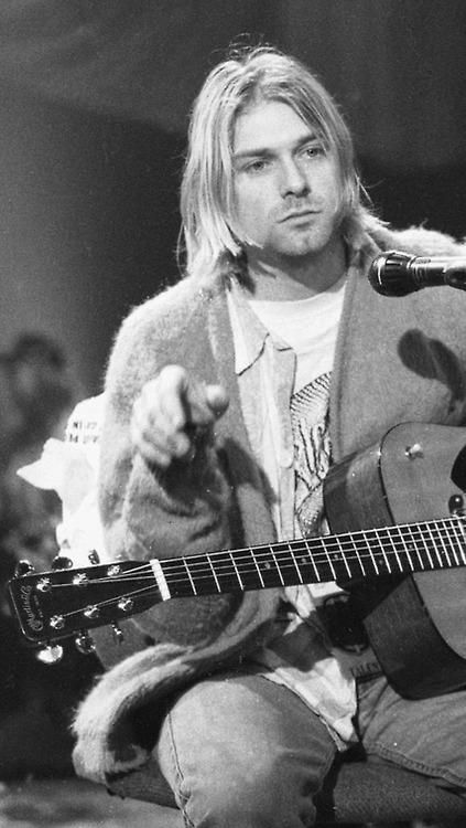 Pin By Str8edgebby On 27 Kurt Cobain Unplugged Nirvana Kurt