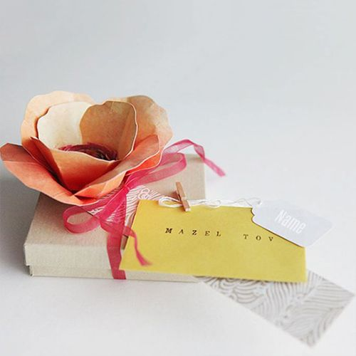 Gift Wrap for a Book Lover - Gift wrap for the book lover; with a bookmark as a topper