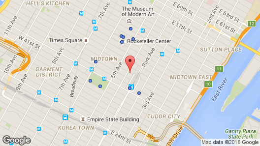 Map Of New York New York Hotel.The Roosevelt Hotel New York City Map Favorite Places Spaces In