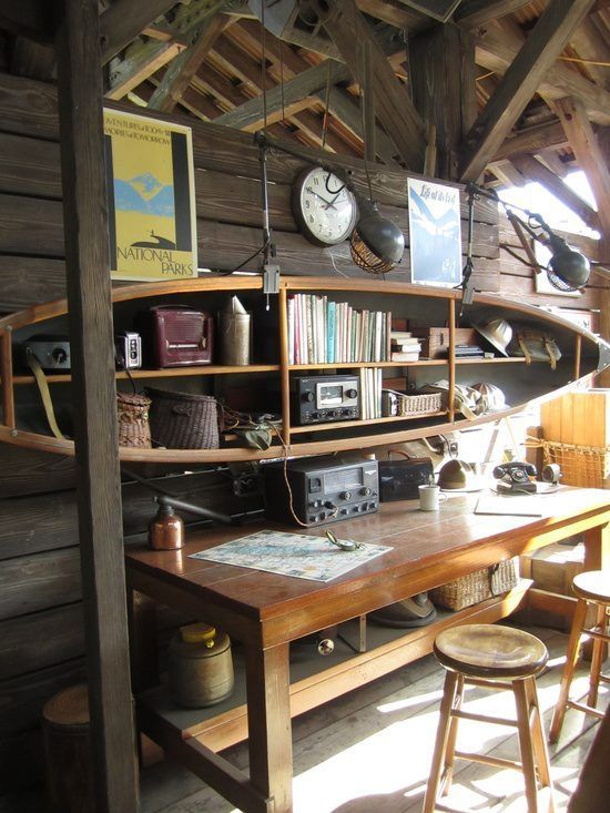 Cabin Loft wall storage | Found on Uploaded by user
