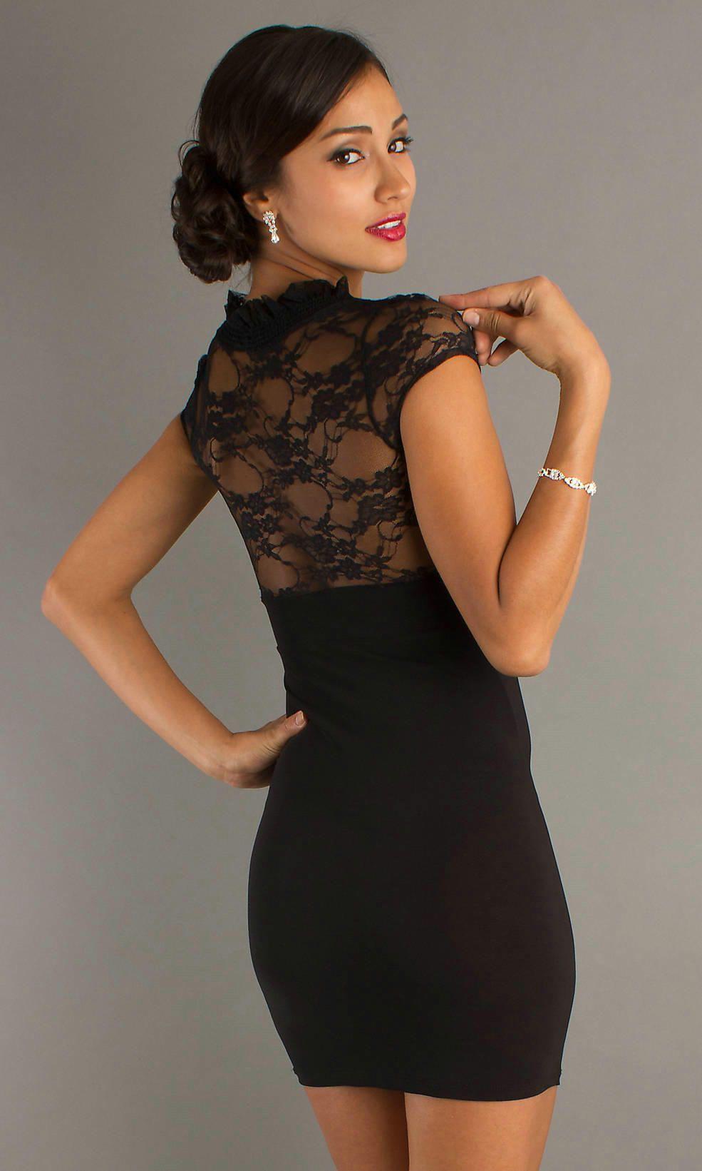 12b0b9b435c8 Beauties Wearing The Little Black Dress | Fashion | Semi formal ...