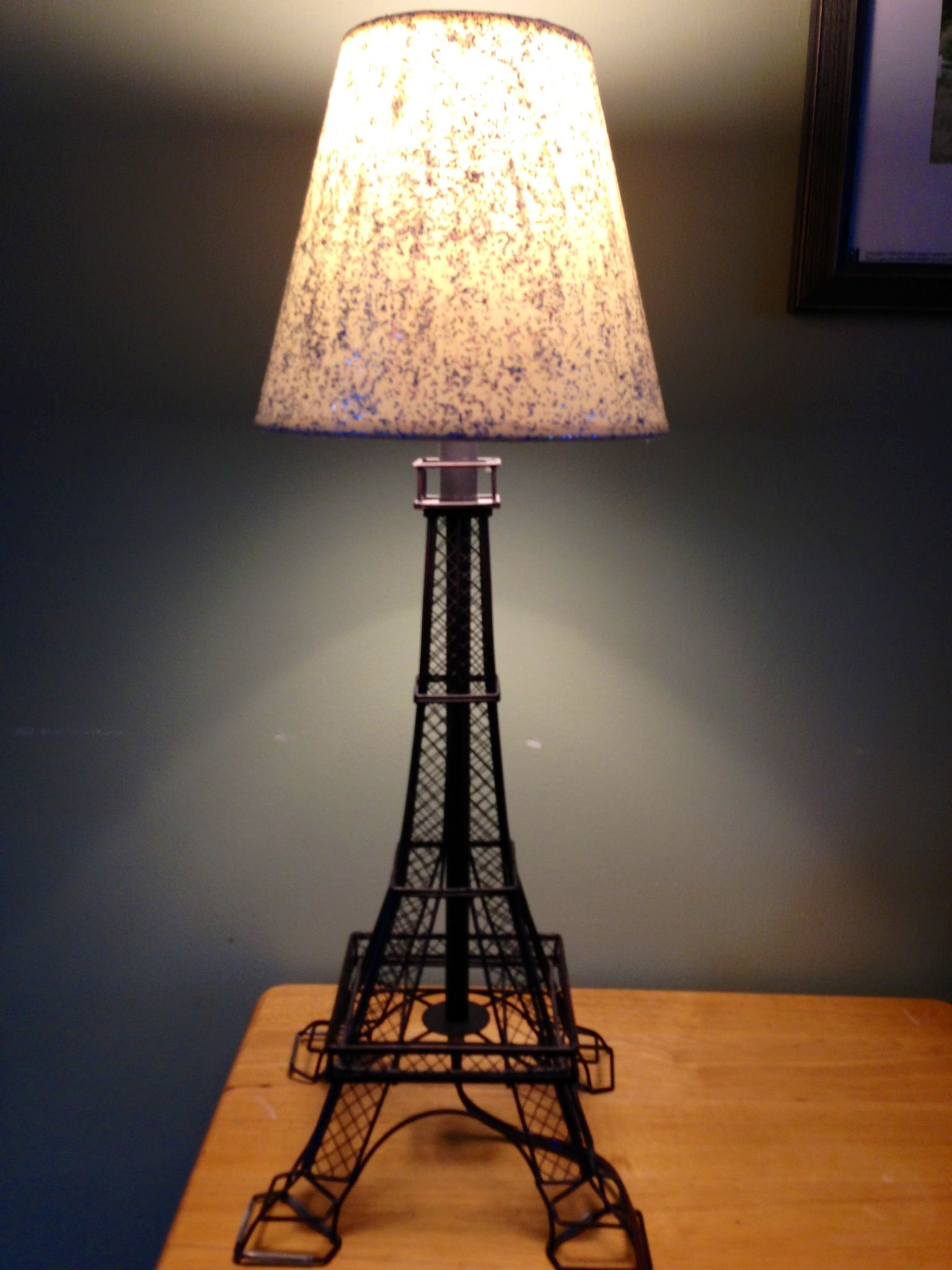 Mod podge and glitter lamp shade! #diy | Home Sweet Home ...