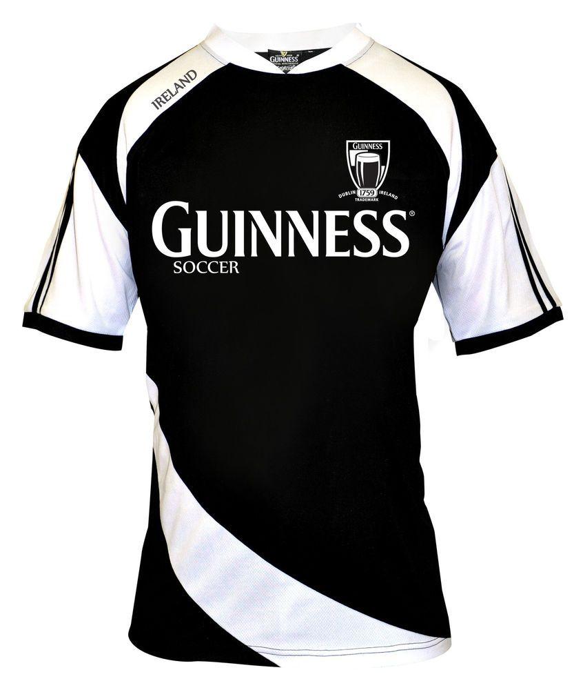 SOCCER RUGBY JERSEY Mens Irish Ireland Guinness Drifit