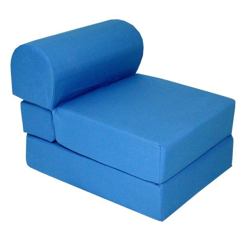 Diann Kids Sleeper Sleeper Chair Studio Chairs Foam Bed
