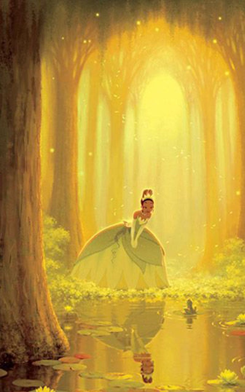 The Princess Tiana And The Frog Wallpaper With Images Disney