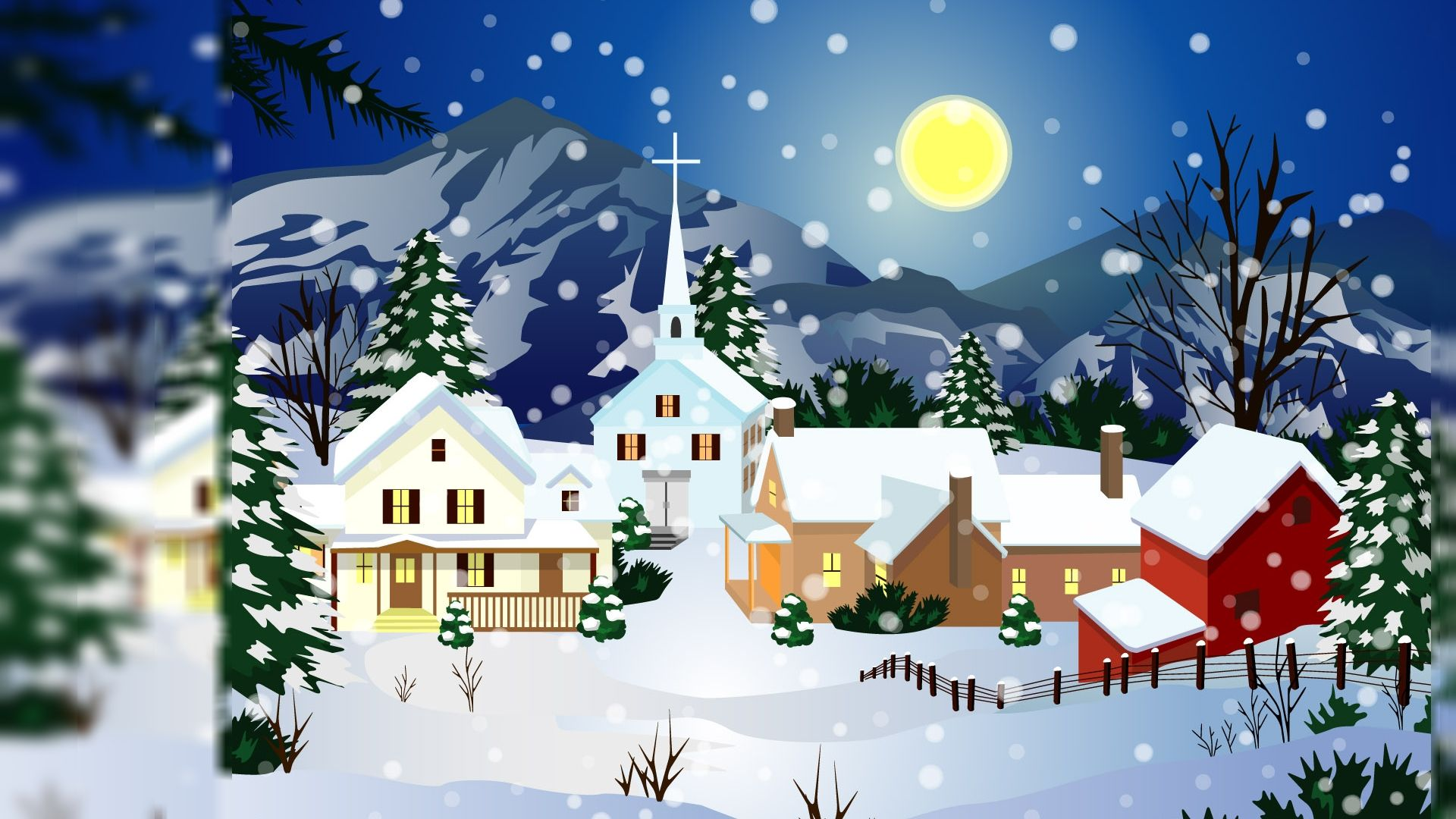Merry Christmas Relieve Me Of The Curse Of Memory Animated Christmas Wallpaper Animated Christmas Christmas Desktop Wallpaper