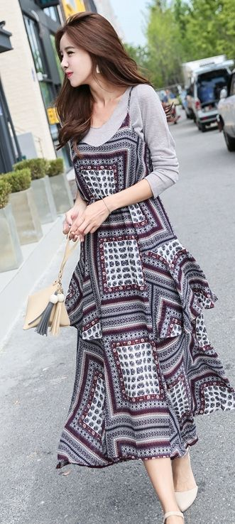 Fashion Style Outfit Dress Asian Fashion Dressing With