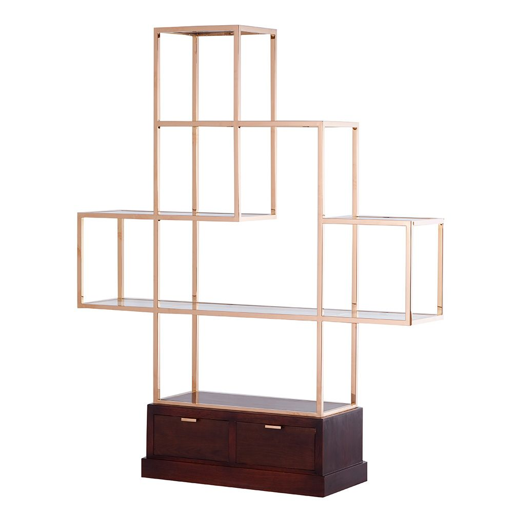Mervyn - Display Cabinet 2 Drawers | Occasional Tables | Living Room ...