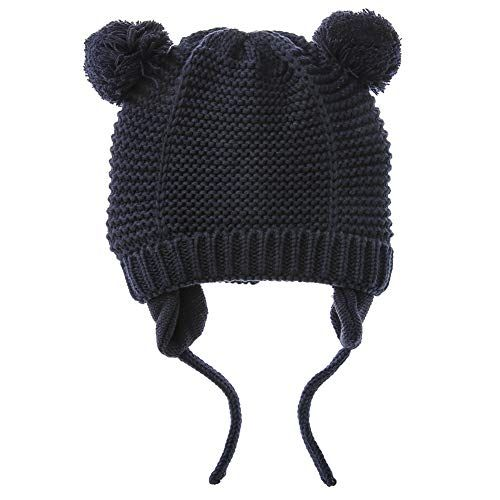 4ed135af2 Exemaba Baby Toddler Kids Girls Hat Warm Soft Child Boys Kintted ...