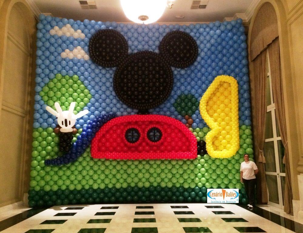 Mickey | BALLOON DECORS THAT I LOVE | Pinterest | Mickey mouse ...