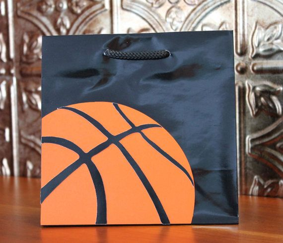 Basketball Gift Bags By Thewrapup On Etsy