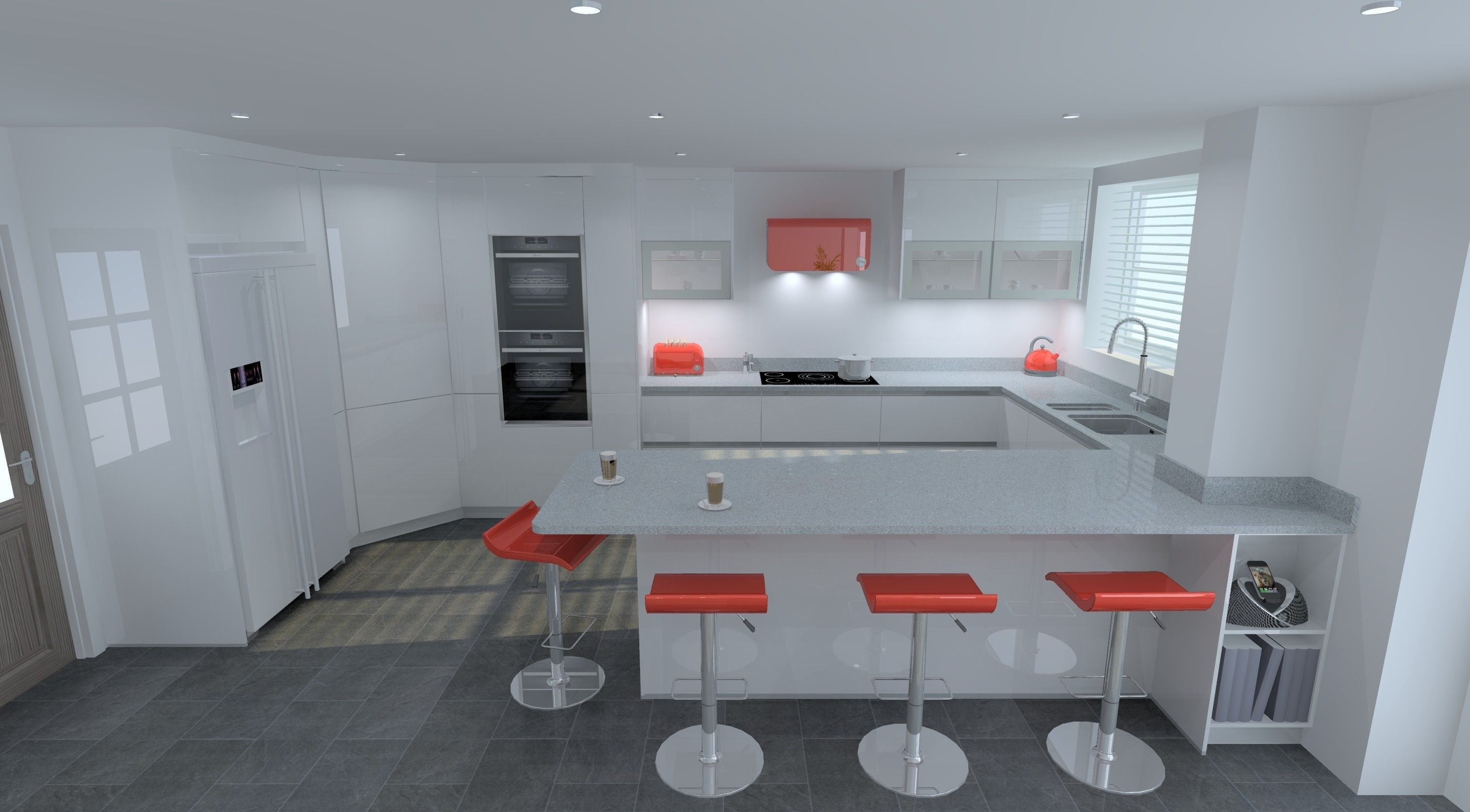 Modern-Kitchen-Design. Schuller German Kitchen in Valletta ...