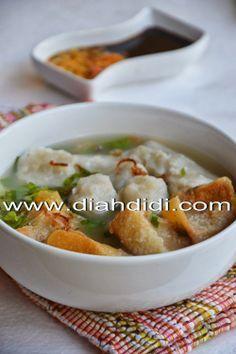 Resep Cuanki Siomay Kuah Khas Bandung Resep Masakan Makan Malam Makanan Dan Minuman