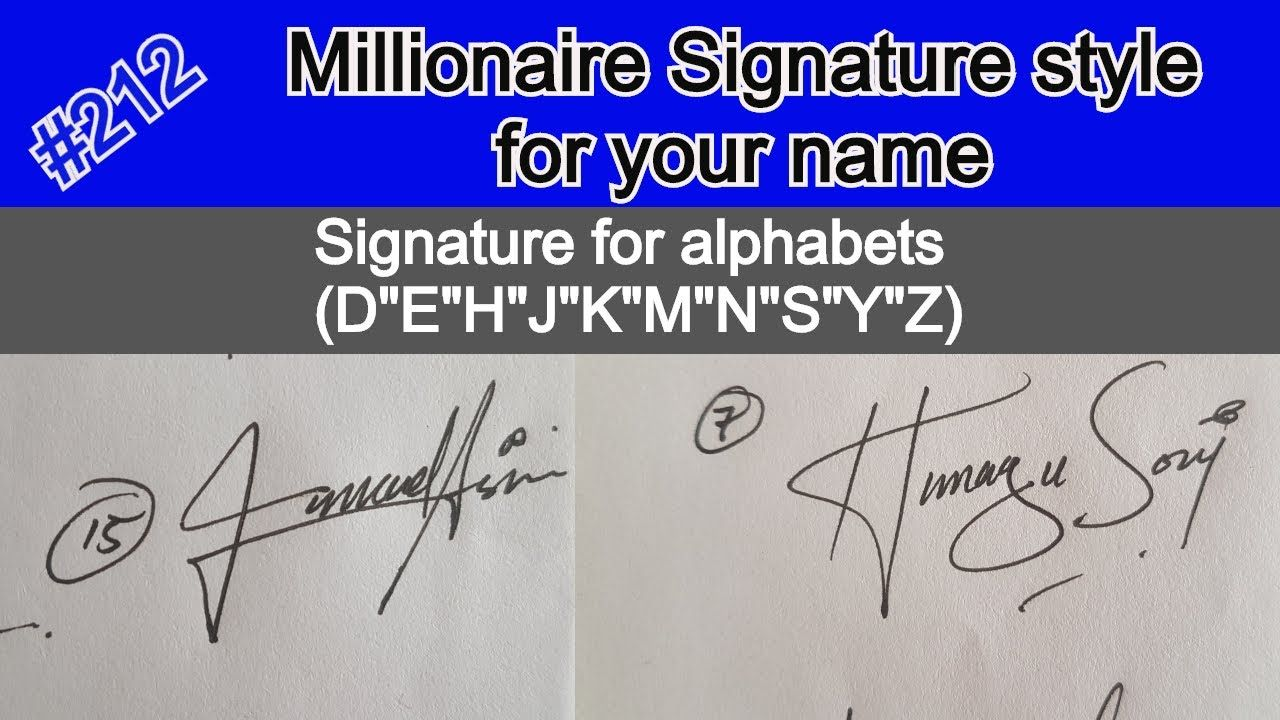 Signature Style For My Name Signature Like Millionaire For My Name S Name Signature Signature Of My Name Signature Style