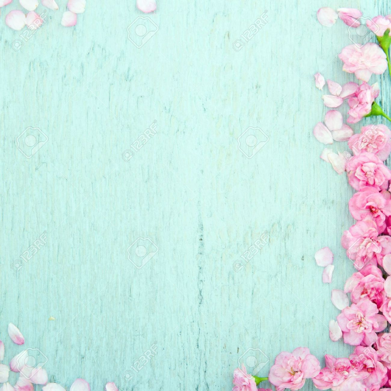 Rustic Flower Background