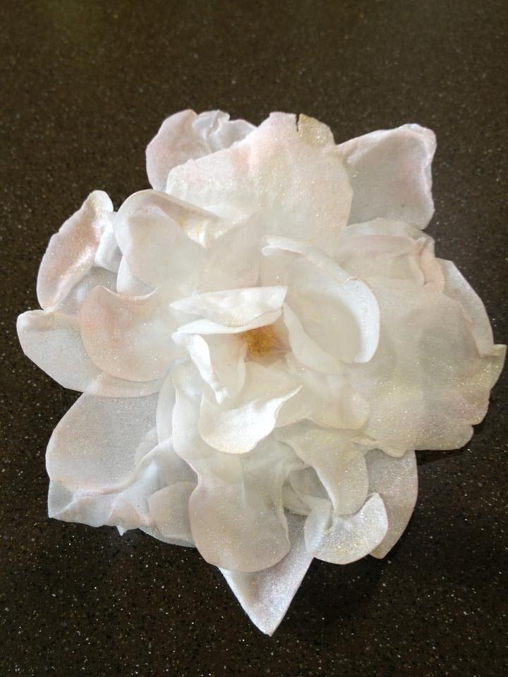 Rice paper flower by sarahs farmhouse fancies foods i want to rice paper flower by sarahs farmhouse fancies mightylinksfo