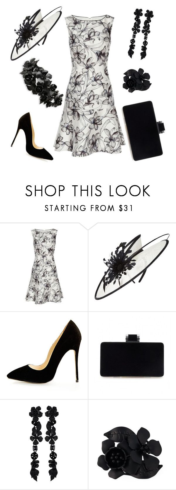 """""""Royal Garden Party"""" by nmccullough ❤ liked on Polyvore featuring Reiss, Phase Eight and Valentino"""
