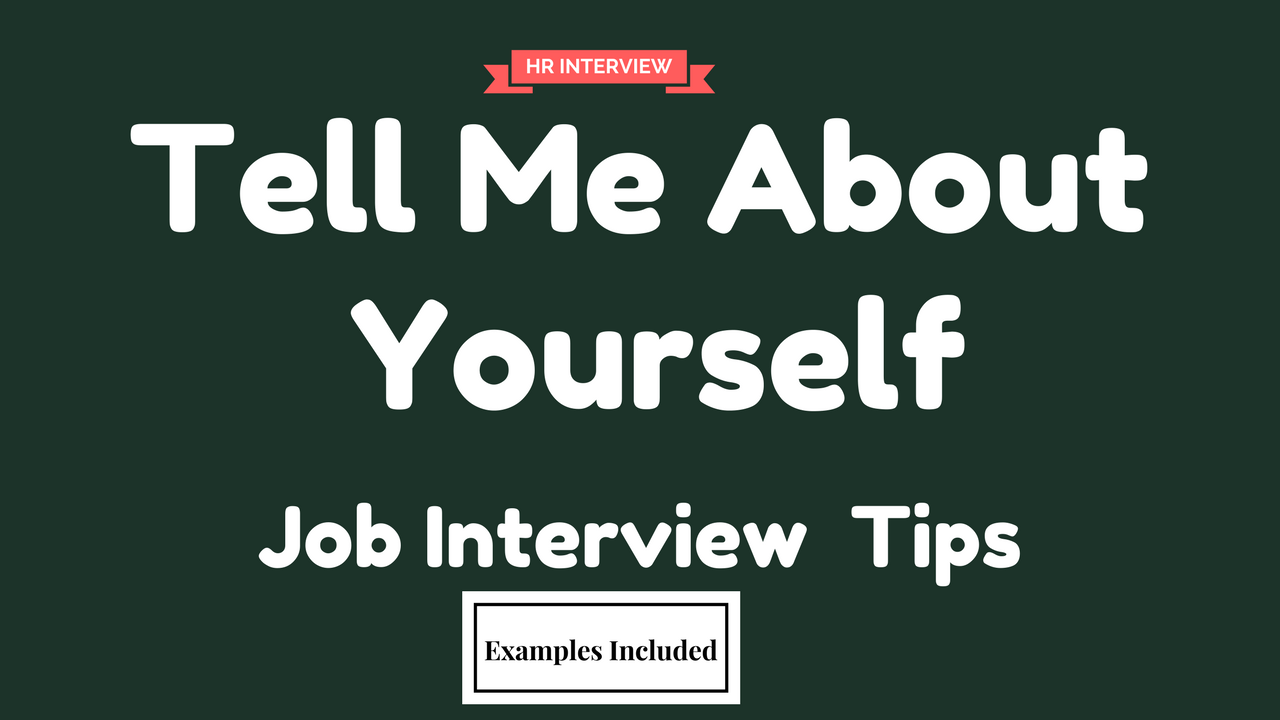 Tell Me About Yourself Is First Common Interview Question Of Your Job  Interview. Listen To