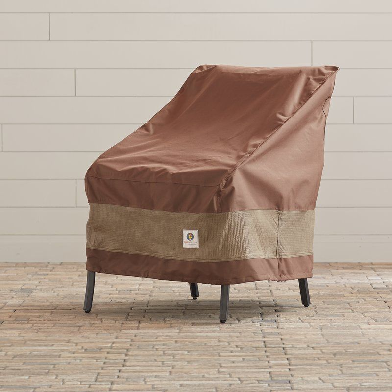 Steve Water Resistant Patio Chair Cover With 2 Year Warranty Patio Chair Covers Patio Furniture Covers Patio Chairs