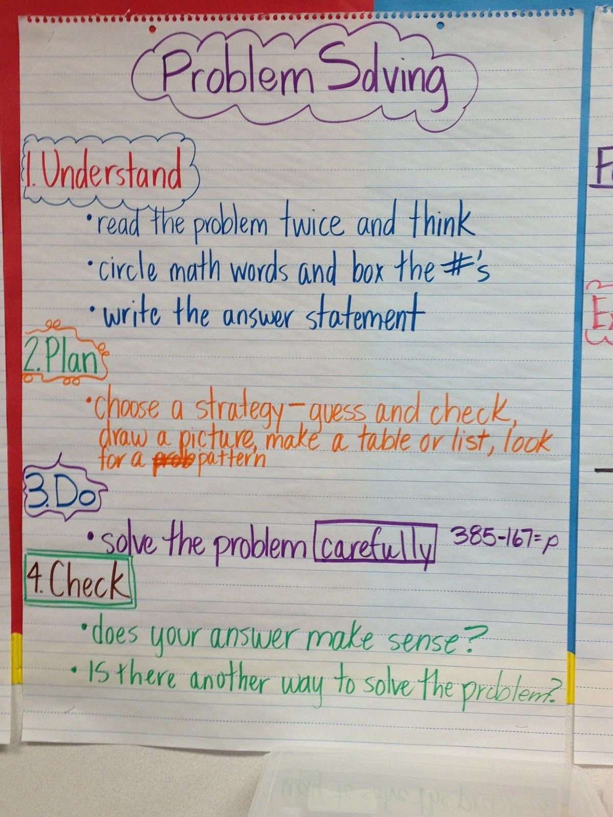 5th Grade Anchor Charts
